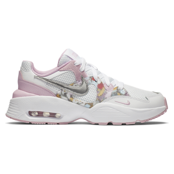 Nike Air Max Fusion Girls' Shoe White/Silver