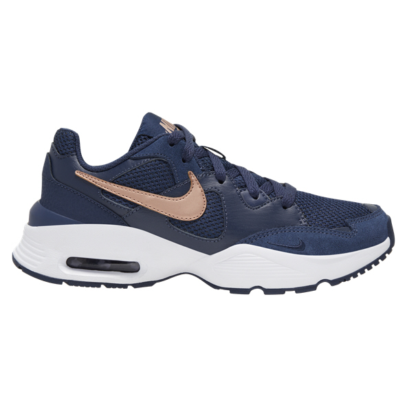 Nike Air Max Fusion Girls' Shoe Navy/Red/White