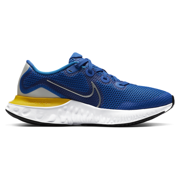 Nike Renew Run Boys' Running Shoe Royal/Silver