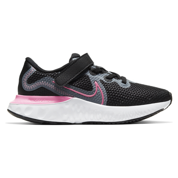 Nike Renew Run Jnr Girls Black/Pink