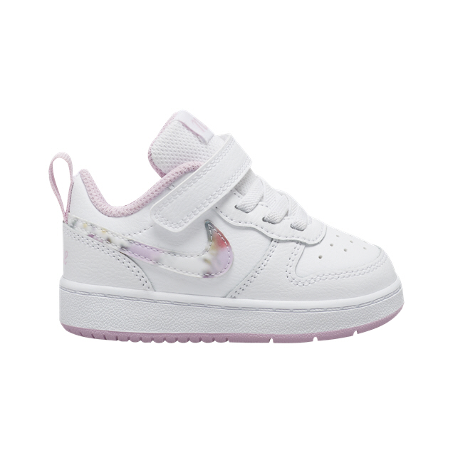 Nike Court Borough Low 2 Infant Girls Trainer, White
