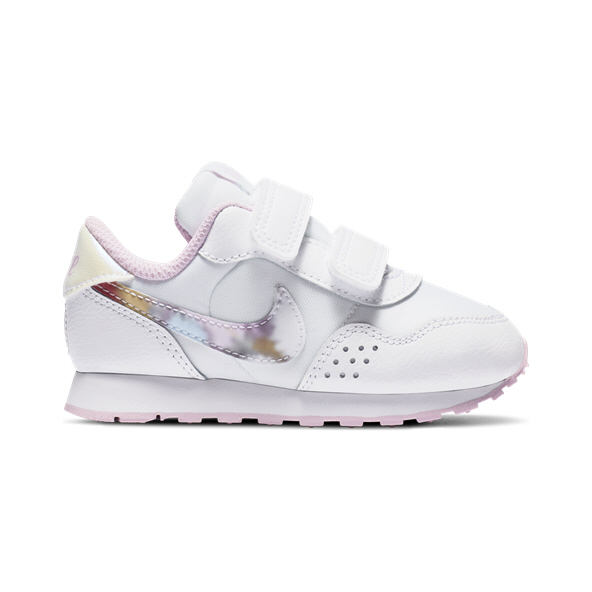 Nike MD Valiant Infant Girls' Trainer, White /Pink