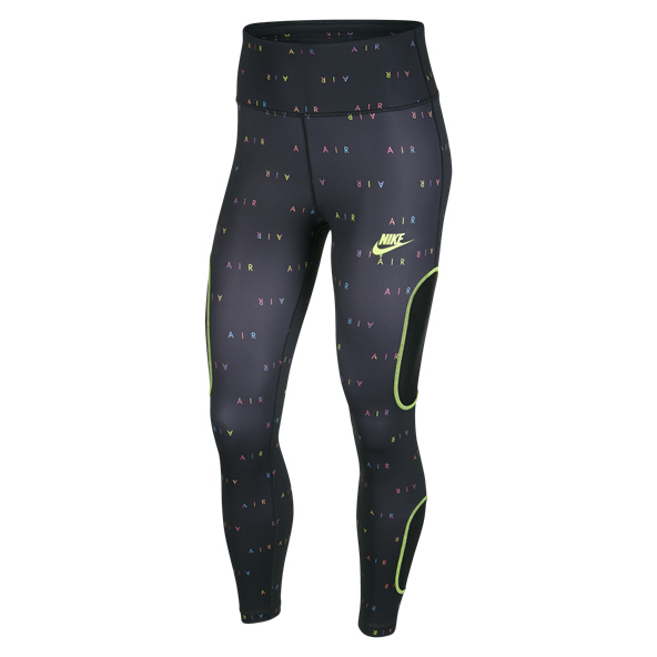 Nike Air 7/8 Women's Running Tights Black