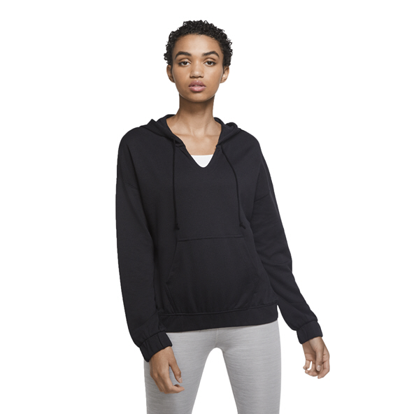 Nike Yoga Women's Cover up Hoody Plus Black