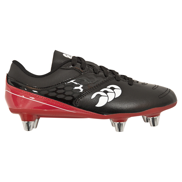Canterbury Phoenix Club Kids' Rugby Boot, Black