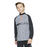 Nike CR7 Dry Academy Kids Top Black
