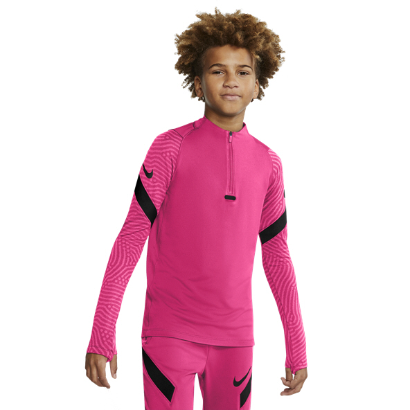 Nike Dry Strike Boys' Drill Top, Pink