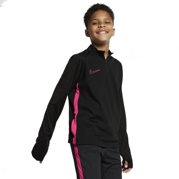 Nike Dry Academy Boys. Top, Black