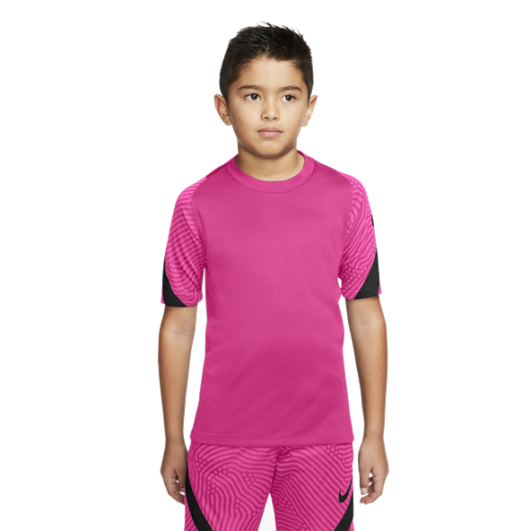 Nike Breathe Strike Boys' T-Shirt, Pink