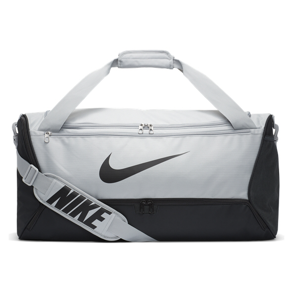 Nike Brasilia Duffel Bag - Medium, Grey