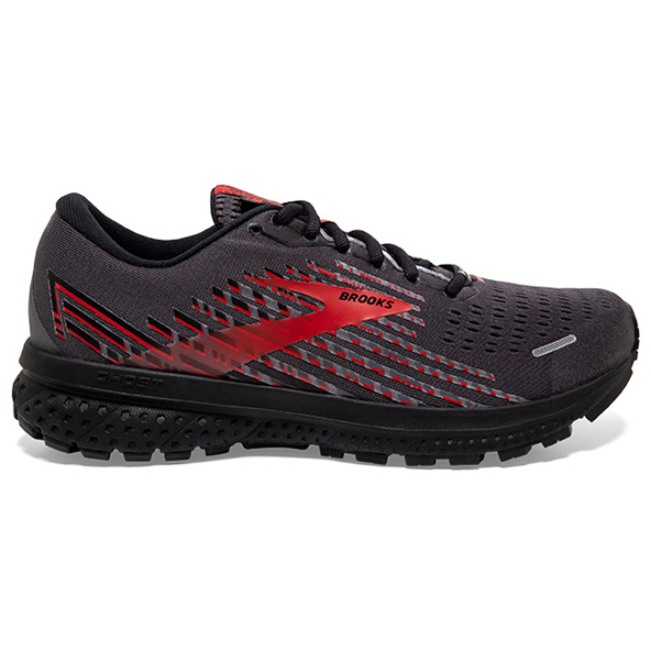 Brooks Ghost 13 GTX Men's Running Shoe Black/Red
