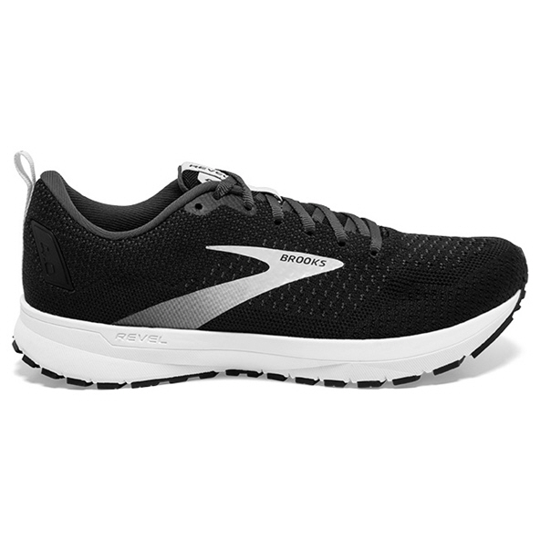Brooks Revel 4 Men's Running Shoe Black/Oyster