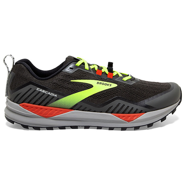 Brooks Cascadia 15 Men's Trail Shoe Black/Red