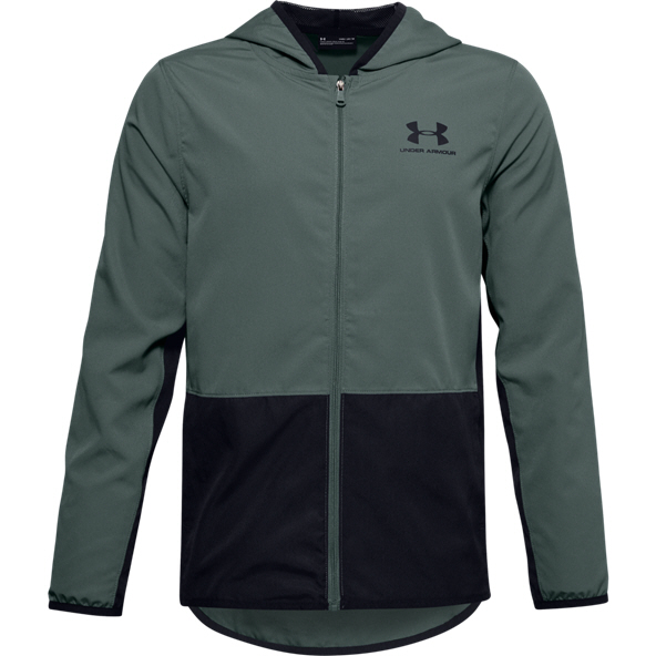 Under Armour® Woven Track Boys' Jacket Blue