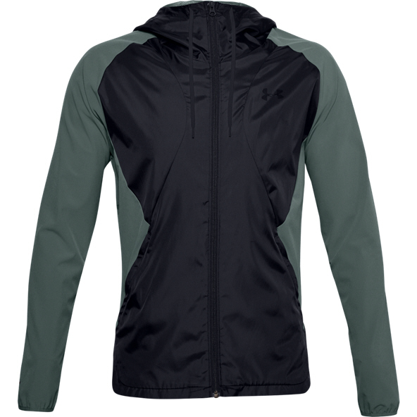 Under Armour® Stretch Woven Full-Zip Jacket Blue