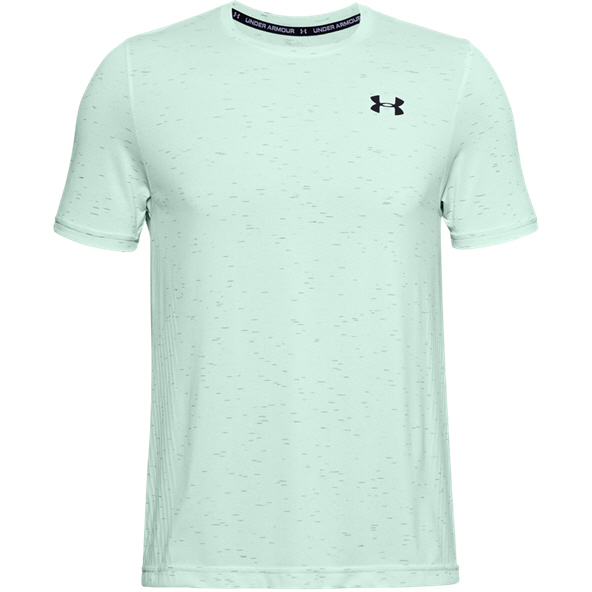 UA Seamless SS Tee Mens Blue