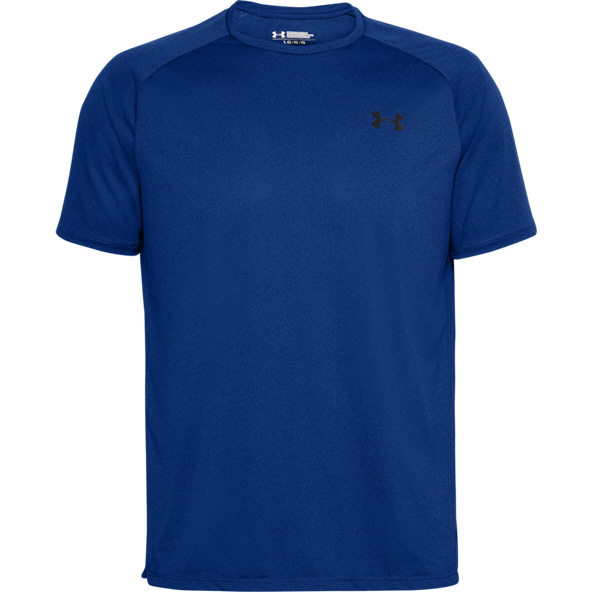 UA Tech 2.0 SS Tee Novelty Mens BLUE