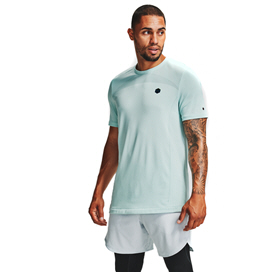 Under Armour® Rush Seamless Men's T-Shirt Blue