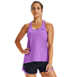 UA Knockout Tank Womens Purple