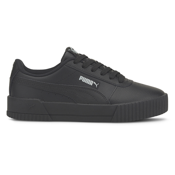 Puma Carina L Girls' Trainer, Black