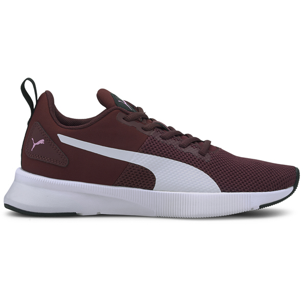 Puma Flyer Runner Girls' Trainer Burgandy