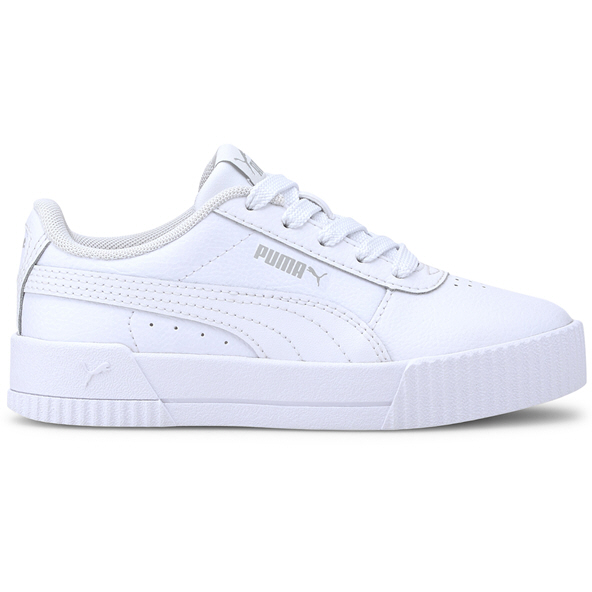 Puma Carina L Jnr Girls White