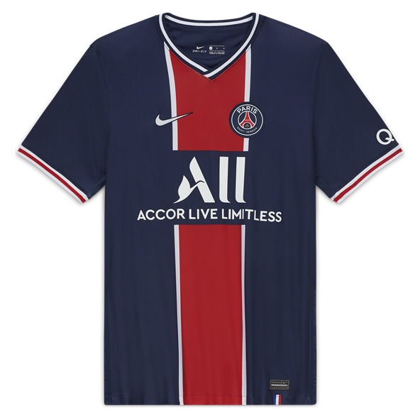 Nike Paris Saint-Germain 2020/21 Home Kids' Jersey, Navy