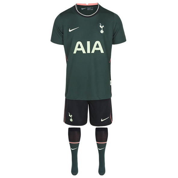 Nike Tottenham Kids Away Mini Kit Green