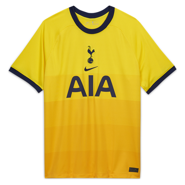 Nike Spurs 2020/21 3rd Jersey, Yellow