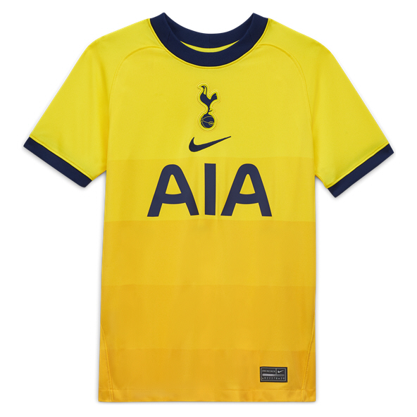 Nike Spurs 2020/21 3rd Kids' Jersey, Yellow