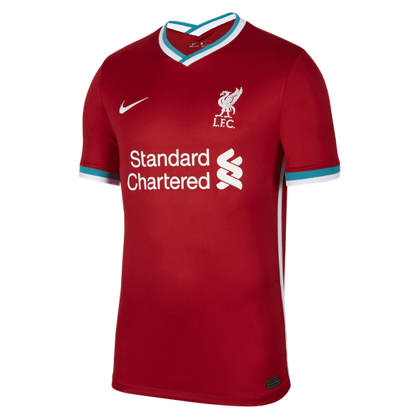 Nike Liverpool FC 2020/21 Home Jersey, Red