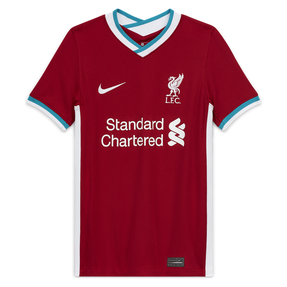 Nike Liverpool FC 2020/21 Home Kids' Jersey, Red