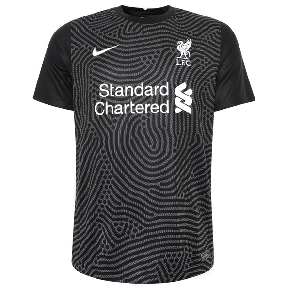 Nike Liverpool FC 2020/21 Home Goalkeeper Kids' Jersey, Grey