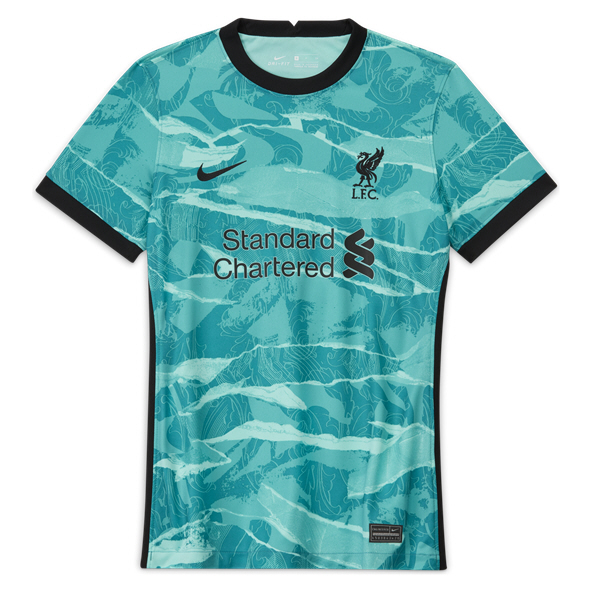 Nike Liverpool 20 Away Womens Jersey Grn
