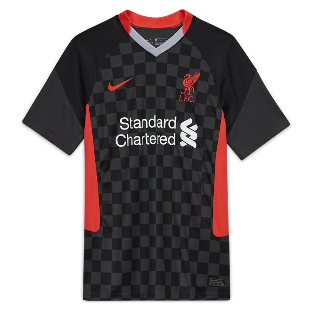 Nike Liverpool FC 2020/21 3rd Jersey, Black