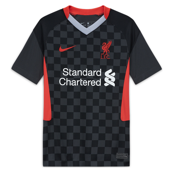 Nike Liverpool 20 3rd Kids Jersey Black