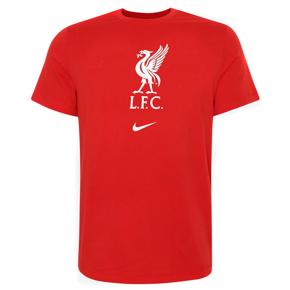 Nike Liverpool 20 Evergreen Crest Tee Rd