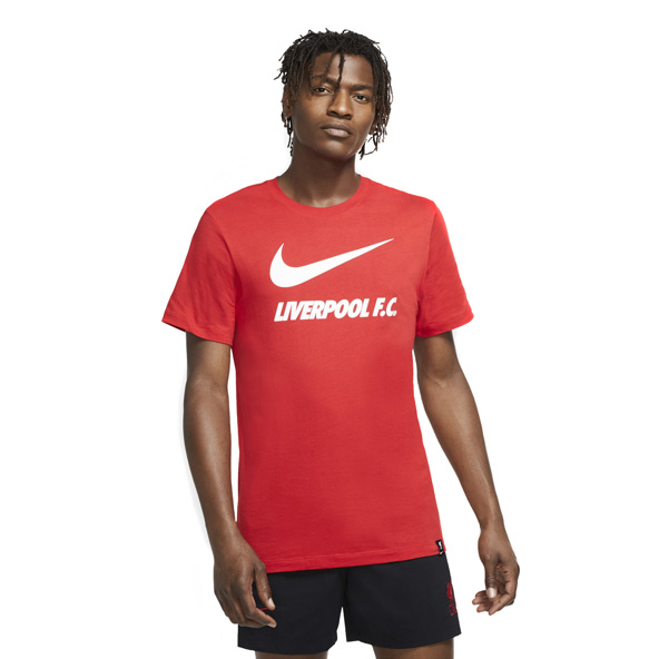 Nike Liverpool FC 2020/21 Training Ground T-Shirt, Red
