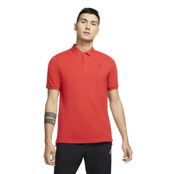 Nike Liverpool 20 Polo PQ Red