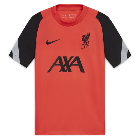 Nike Liverpool 20 Strike Kids Tee Red