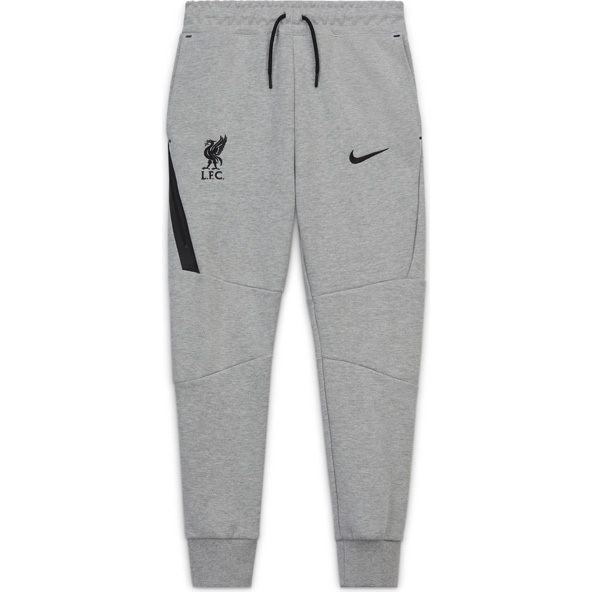 Nike Liverpool FC 2020/21 Tech Kids' Pant, Grey