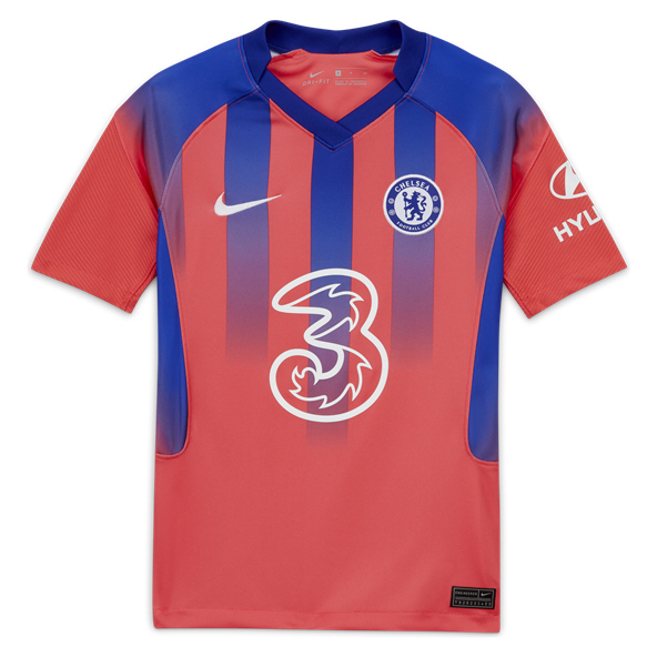 Nike Chelsea 2020/21 3rd Kids' Jersey, Red