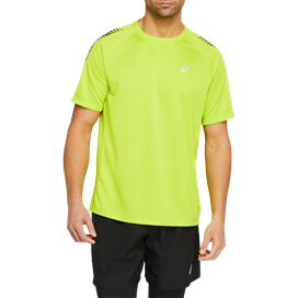 Asics Icon Men's Running T-Shirt Green / Black