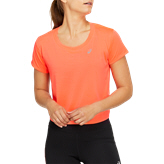 Asics Race Crop Women's Top Orange