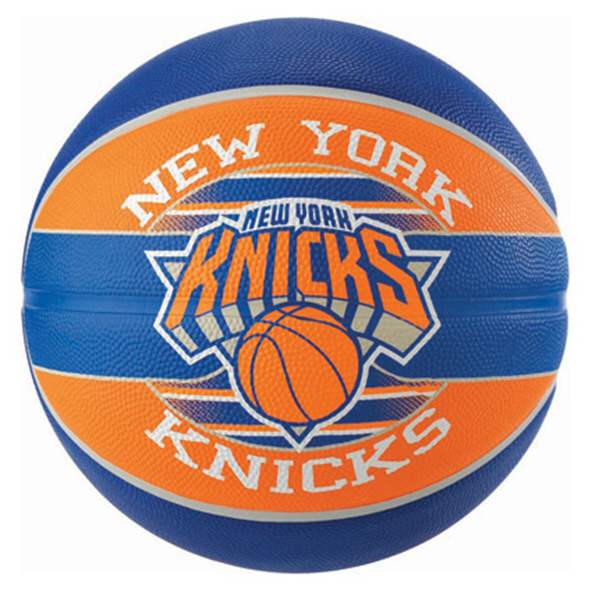 Spalding NY Knicks Team Basketball - Size 7, Blue