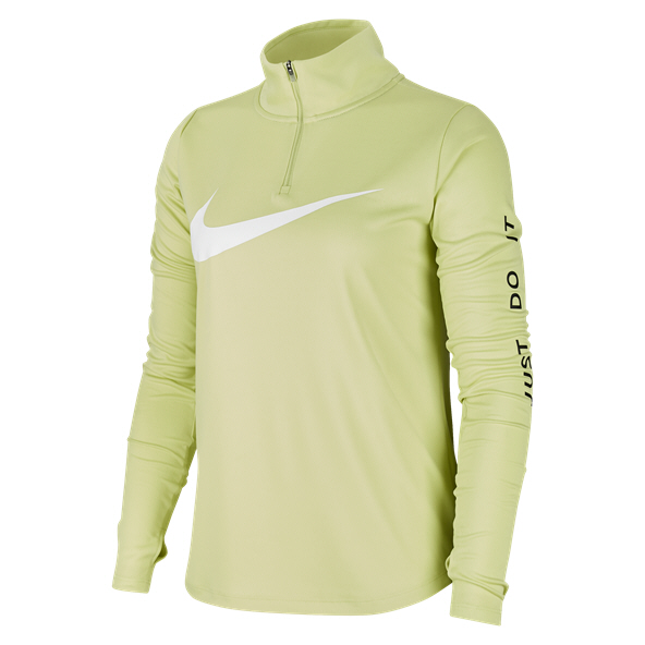 Nike Swoosh MidLayer Wmn Top Lime