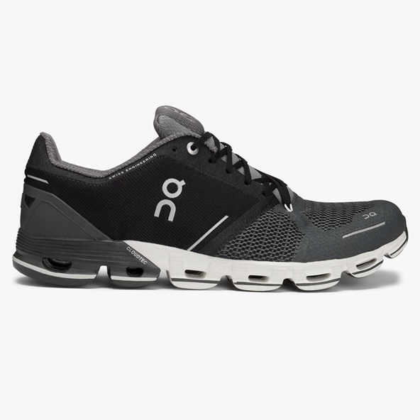 ON Cloudflyer Men's Running Shoe, Black