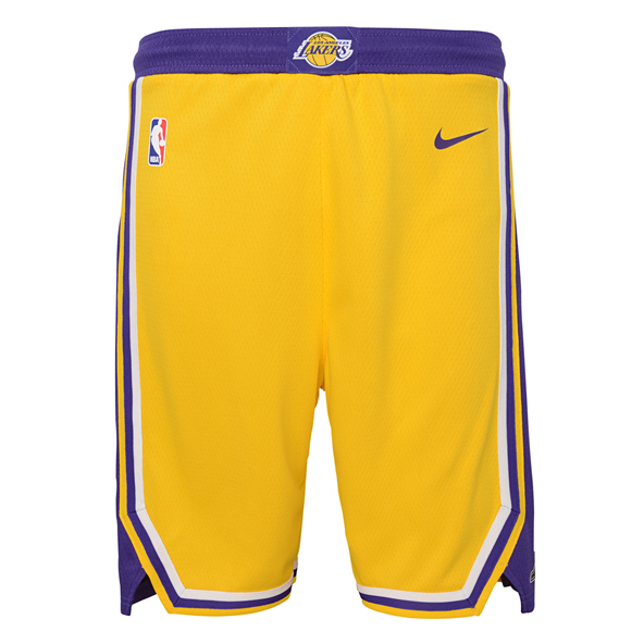 Nike Lakers Kids Swingman Short Yellow
