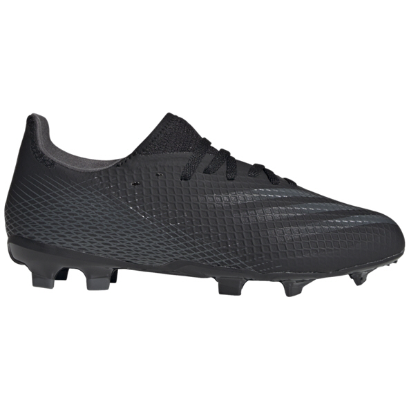 adidas X Ghosted.3 FG Kids' Football Boot, Black