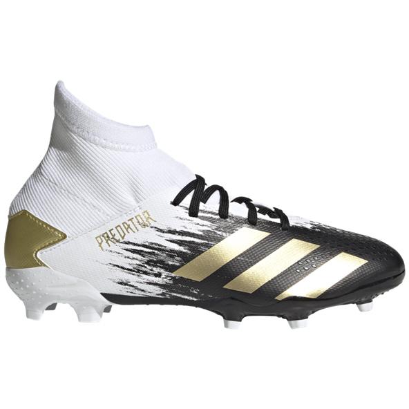 adidas Predator 20.3 FG Kids' Football Boot, White